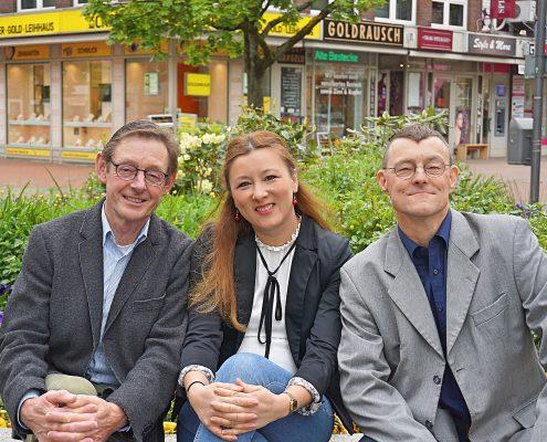 Der Vorstand der Arbeitsgemeinschaft Tibarg e.V.