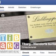 Ausschnitt des Facebook-Titelbildes mit Tibarg-Logo der Tibarg Facebookseite