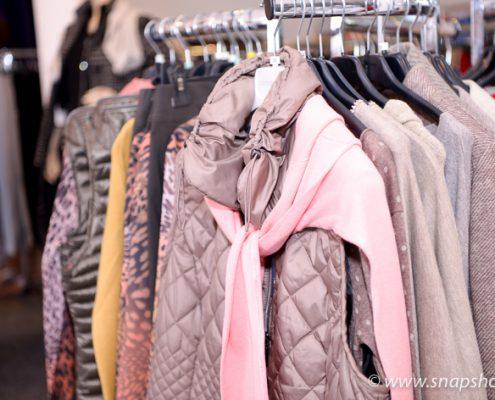 Warme Jacken und Mäntel