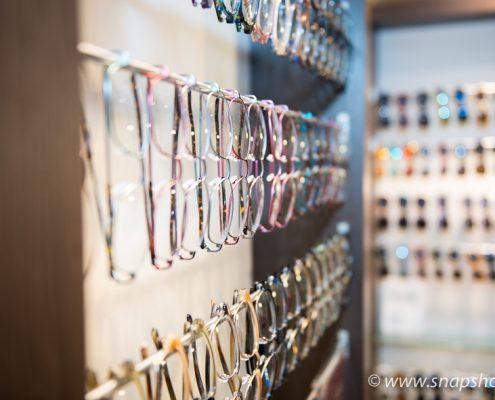 Brillen in vielen Farben und Formen