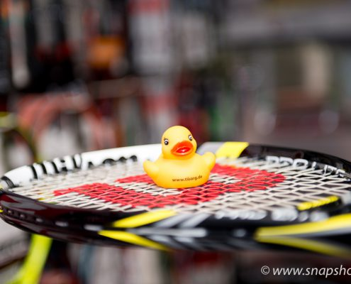 Große Auswahl an Tennisschlägern