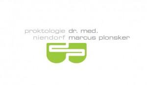 Das Logo der Proktologie Dr. Plonsker am Tibarg in Hamburg-Niendorf