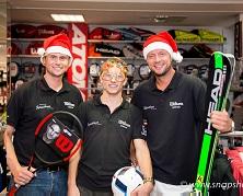 Sporthaus am Tibarg sendet Weihnachtsgrüße