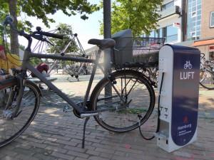 Tibarg Fahrradtankstelle