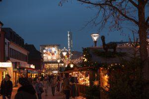 Der Tibarg ist in Weihnachtsstimmung