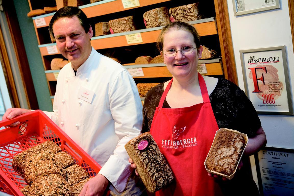 Bio-Vollkornbrot von der Effenberger Vollkornbäckerei