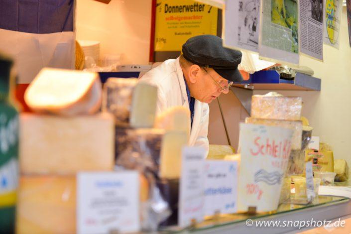 Große Auswahl an Käse bei Käse Meier