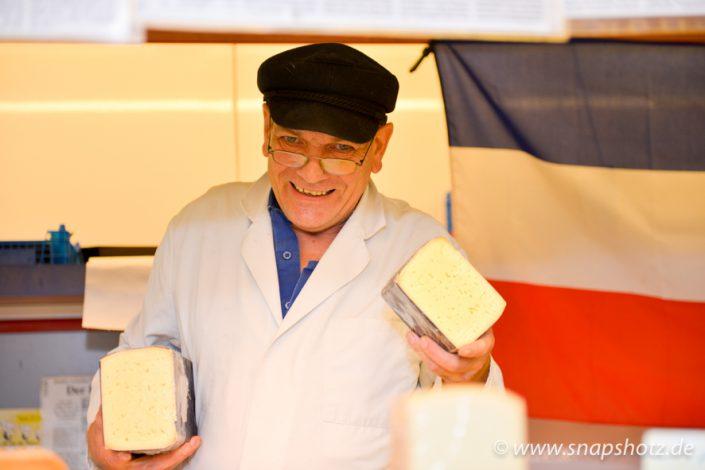 Jens Meier liebt seinen Käse