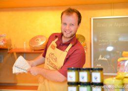 Ausgewählte Käsesorten aus der Region gibt es bei Käsestolz