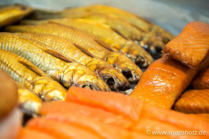 Geräucherte Fischspezialitäten vom Fischgeschäft K. N. Kalinowski