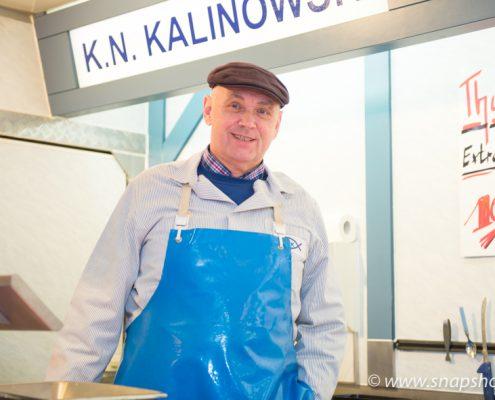 Der Chef Kurt-Norbert Kalinowski