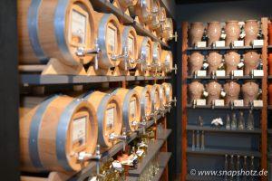 Blick in die Whiskeyecke
