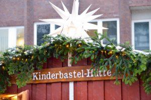 Tibarg Weihnachtsmarkt mit Bastel-Hütte
