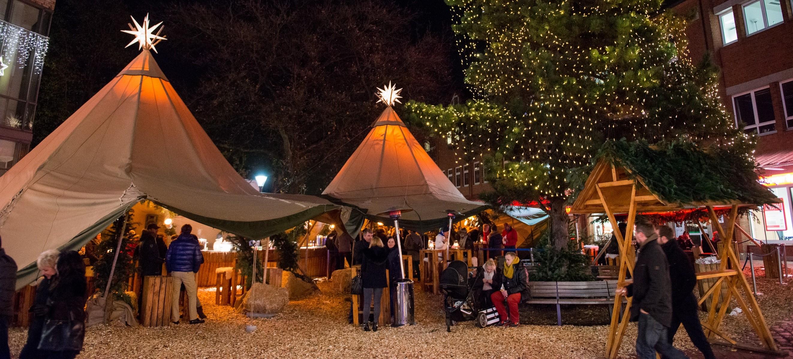 Tibarg Weihnachtsmarkt - Lounge